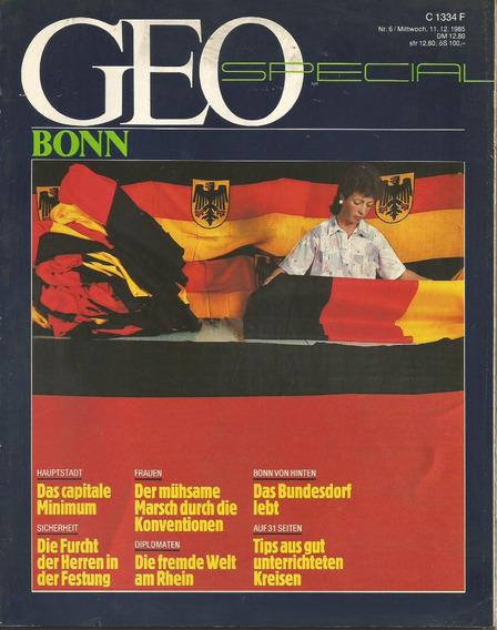 Revista Geo Special - Bonn - Nº 6 - 1985 [em Alemão] Coleção