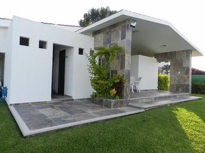 Casa Fin De Semana Renta Fraccionamiento Lomas De Cocoyoc