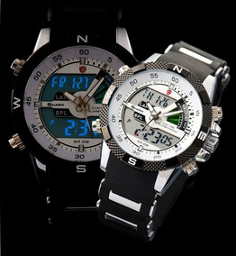 Relógio Porbeagle Shark Fundo Branc Sport Watch Frete Grátis