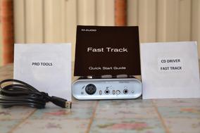 Placa Interface Fast Track M Audio Usb Driver E Software