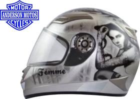Capacete Paramotos Femme Tamanho 58 - Helmets