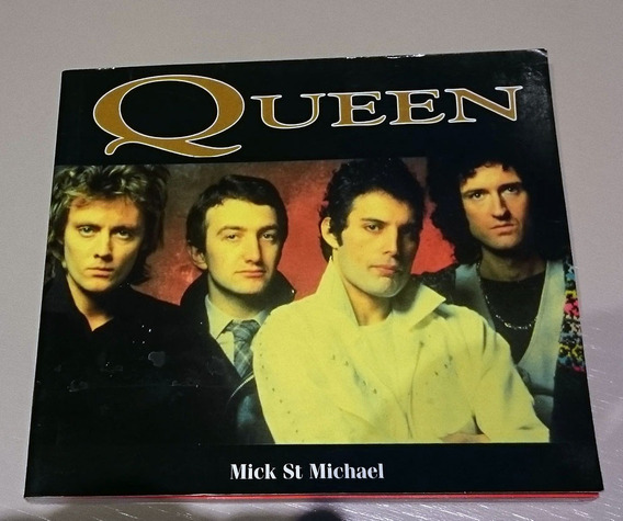 Raro Livreto Queen Biográfico Com Fotos Limitado