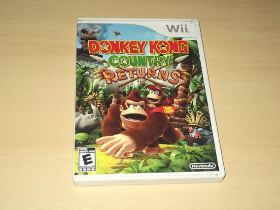 Wii - Donkey Kong Country Returns (americano)