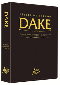 Bíblia De Estudo Dake 2015 Dicionário Expandido Frete Grátis