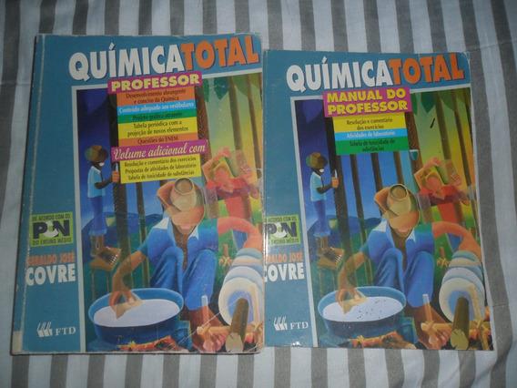 Química Total - Geraldo Covre (livro + Manual) Frete R$20,00