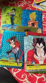 Cartas Dragonball Vegeta Goku Raras Importadas