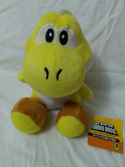 Boneco Em Pelucia Yoshi Amarelo Do Mario Bros Super Nintendo