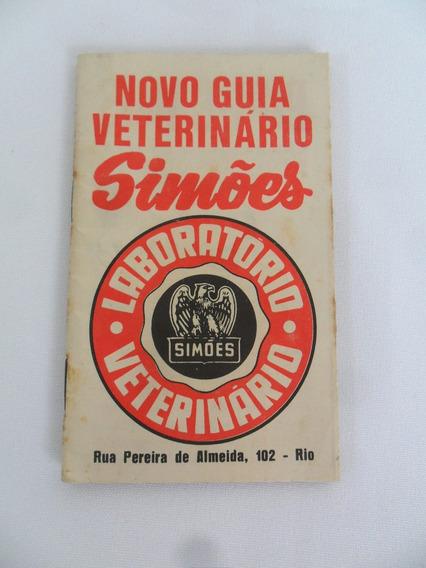 Guia Revista Veterinário Simões Antigo Coleção