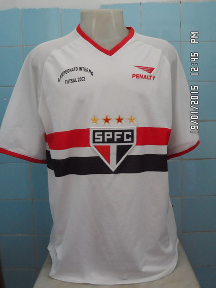 Camisa Do São Paulo Penalty Camp. Interno De Futsal
