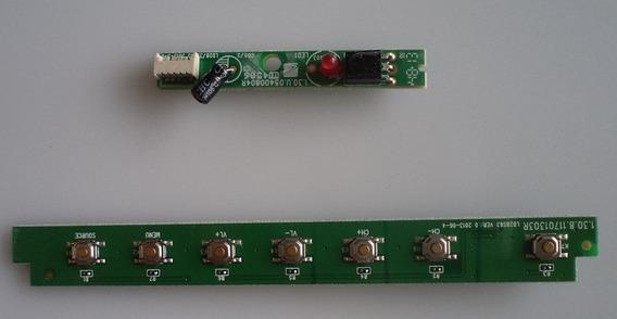 Teclado Sensor Ir Tv Philco Ph28s63d