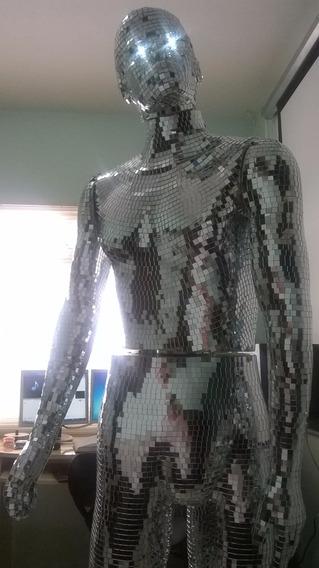 Expositor Robô Promotor Vendas Ingresso Cibernético