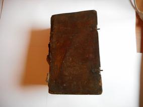 Bíblia Sagrada De 1770 (246 Anos) Completa Alemã