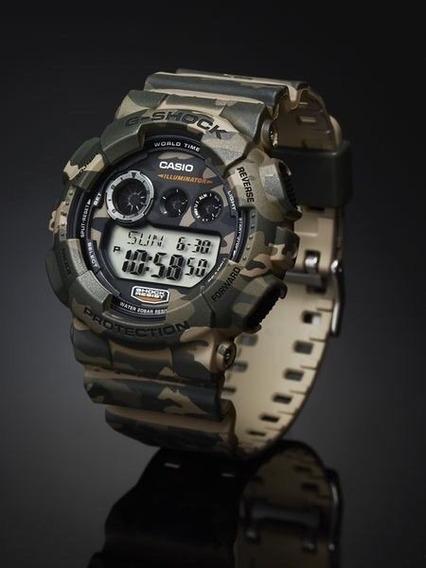 Relógio Casio G-shock Camo Series - Gd 120cm-5 - Illuminator