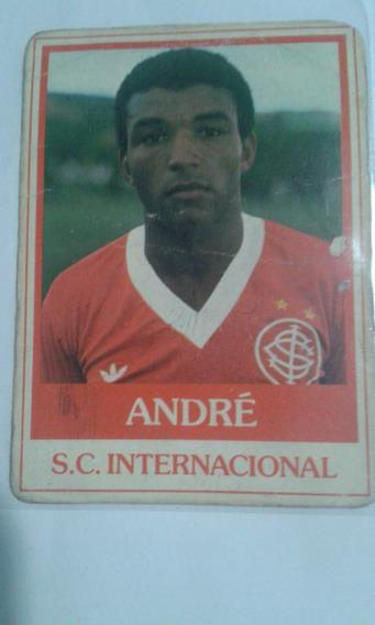 Futebol Cards Ping Pong 226 S.c. Internacional Andre