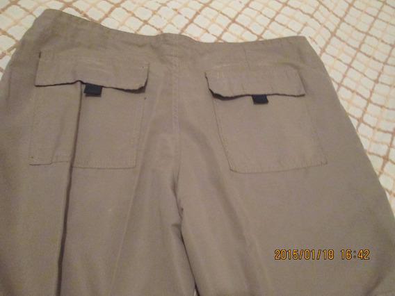 Pantalon Deportivo Con Cierre,mujer