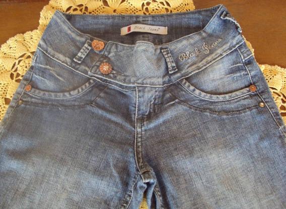 Linda Calça Em Jeans Com Elastano Modelo Skinny Marca Black