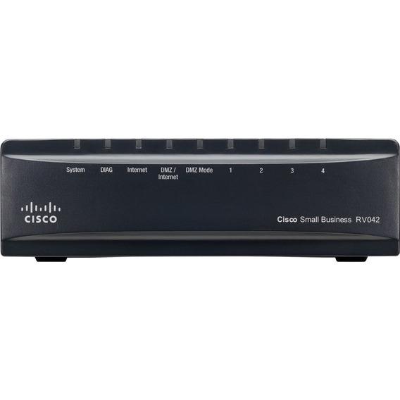 Router Vpn Y Dual Wan Cisco Rv042g Gigabit
