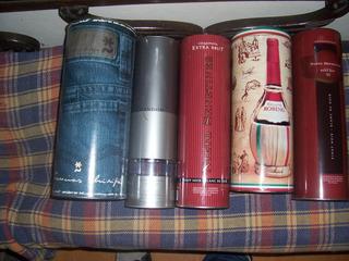Lote De Latas De Botellas, Vacias, En Muy Buen Estado.