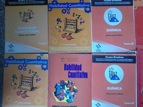Libros Del Grupo Escalera Propedeutico Usb