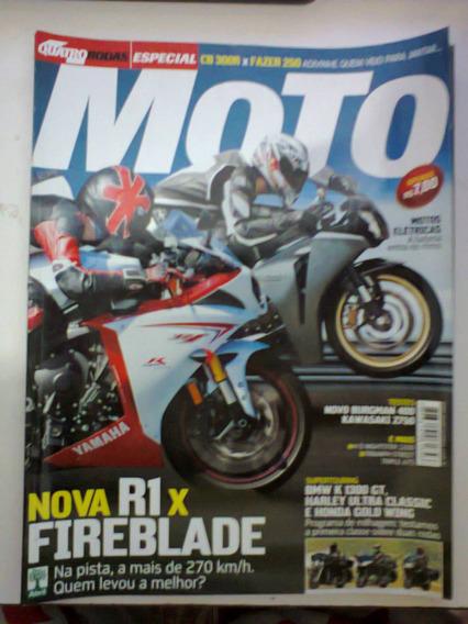 Revista Quatro Rodas Especial Moto N° 594-a - Frete Grátis