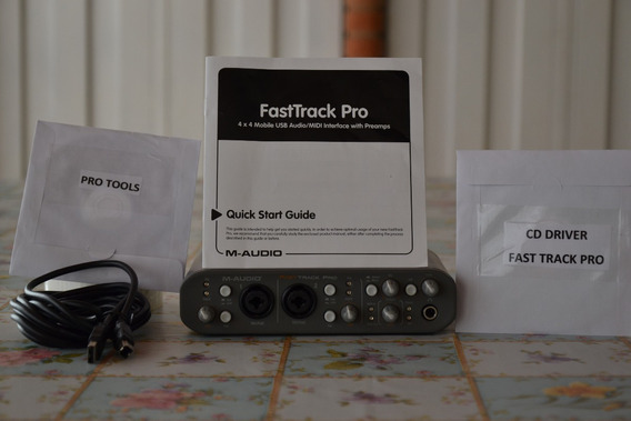 Placa M Audio Fast Track Pro 4x4 Interface Usb Driver Softwa