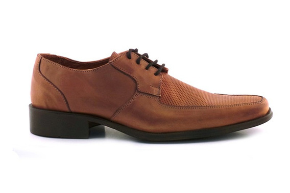 Zapato Hombre Vestir Cordon Goma Cuero Briganti - Hcac00678