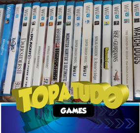 Jogos Wii U Varios Titulos Consulte Disponibilidade E Precos