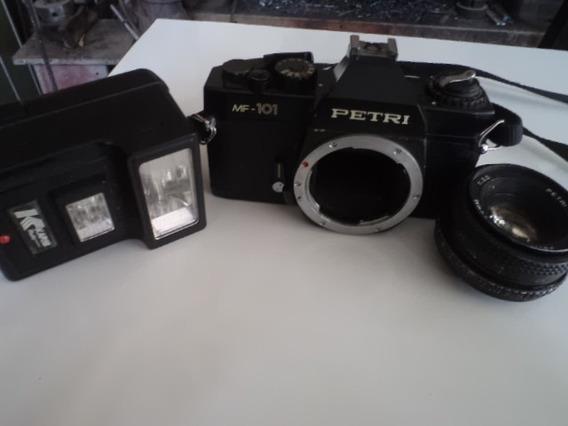 Câmera Fotográfica Petri Antiga