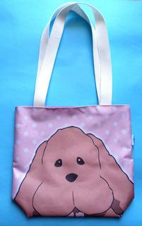 Mini Tote Bag Cartera De Anime Yuri On Ice Makkachin