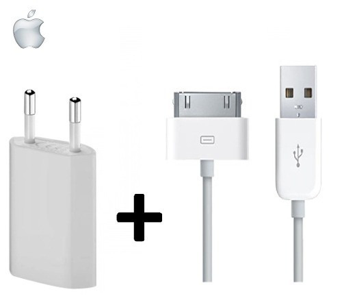 4288f9f9744 Cargador Pared Usb Cable Usb P/ iPhone 3 4s iPod Touch Nano - $ 119 ...