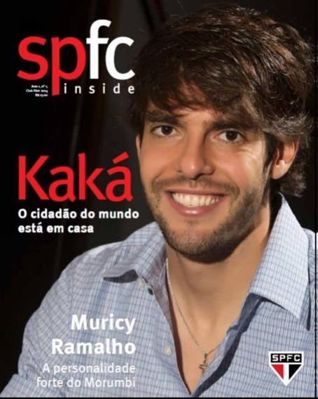 +m+ Revista Oficial Do São Paulo Fc Inside Kaká # 1