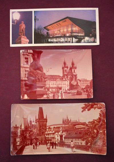 Antiguas Tarjetas Postales Moscú-praga 1978 ( 150050)