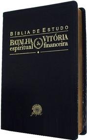 Bíblia Batalha Espiritual E Vitória Financeira Morris Cerulo