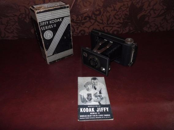 Máquina Fotografica Kodak Jiffy Series Ii