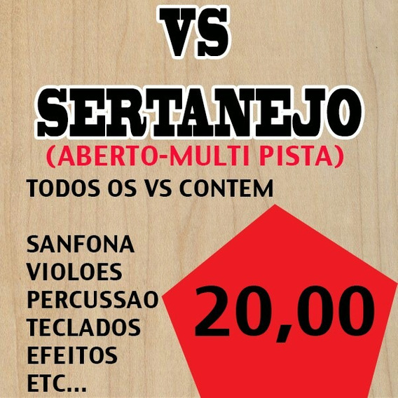 Vs Sertanejo - Aberto(multi Pista)