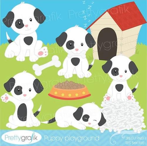 Kit Imprimible Perros Imagenes Clipart Cod 3