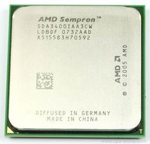Processador Amd Sempron 64 3400 (sda3400cwbox) Semi - Novo