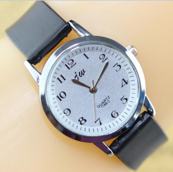 Relógio Jw-quartz-aço Inox-excelente Qualidade