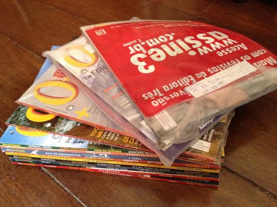 Revista Go Outside Coleção De Assinante 13 Exemplares!