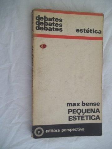 * Livro - Max Bense - Pequena Estética - Filosofia