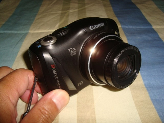 Camera Canon Power Shot Sx150 Is Arte Som
