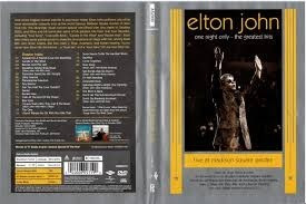 Elton John Dvd One Night Only At Madison Square Garden