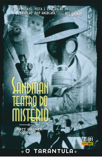 Hq Sandman Teatro Do Mistério O Tarântula Vertigo (panini)
