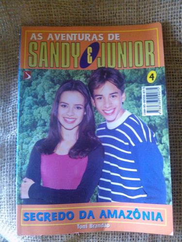 Antigo Livro As Aventuras De Sandy E Junior - Nº 4- Nº 2362g