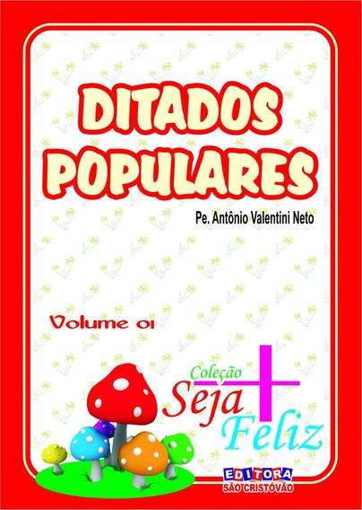 Livro Ditados Populares Volumes 1 E 2