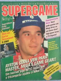 Revista Supergame Nº5 1991 C/poster E-swat - Raridade!
