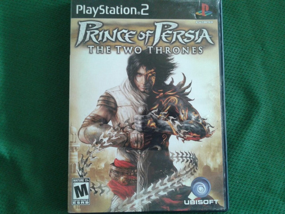 Prince Of Persia The Two Thrones Ps2 Original Completo
