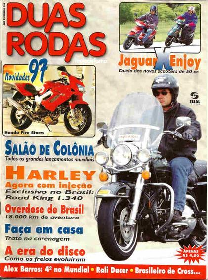Duas Rodas 254 * Harley Road King I.340 * Jaguar * Fire Stor