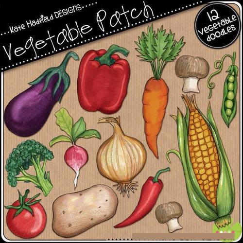 Kit Imprimible Frutas Y Verduras Imagenes Clipart Cod 3
