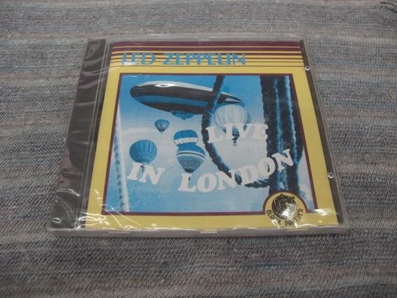 Cd: Led Zeppelin: Live In London